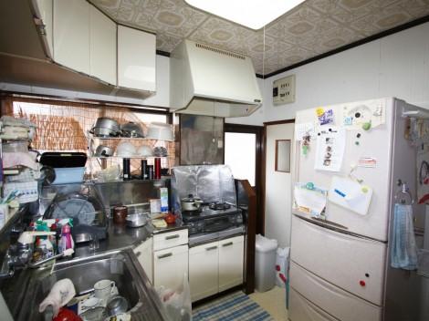 M様邸(棚方町)キッチン施工前