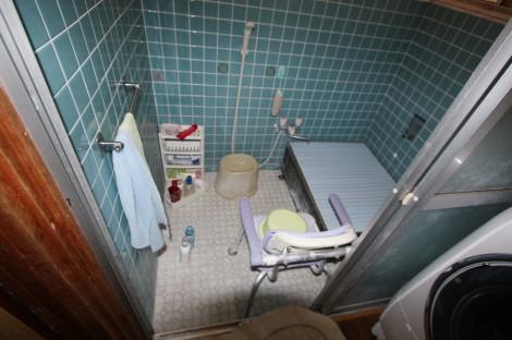 U様(大塔町)浴室施工前