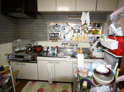 U様(大塔町)キッチン施工前