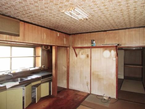 S様邸(田平町)キッチン施工前