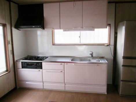 S様邸(星和台町)キッチン施工後