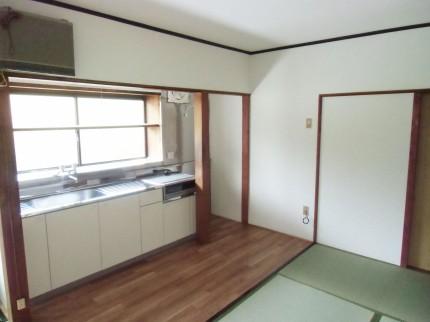 S様邸(田平町)キッチン施工後